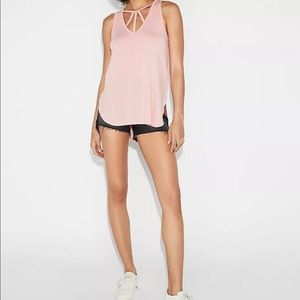 EXPRESS One Eleven Strappy Neck Tank